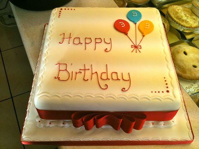 Other Celebration Cakes Rathbones Bakery Upholland