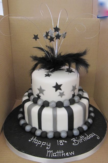 2 Tier Birthday Cake Available In Various Colours And Designs Suitable For Any Age